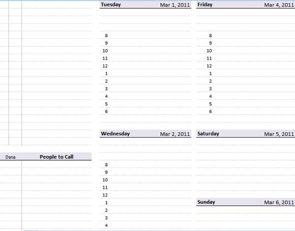 Doc19131101 Microsoft Weekly Planner Doc30922266 Microsoft – Planner Template Word